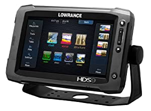 Lowrance 000-10770-001 HDS-9 Gen2 Touch with 9-Inch LCD Touchscreen, Multi-Function... by Lowrance