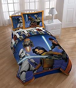 Star Wars Rebels Twin Comforter Set Orange