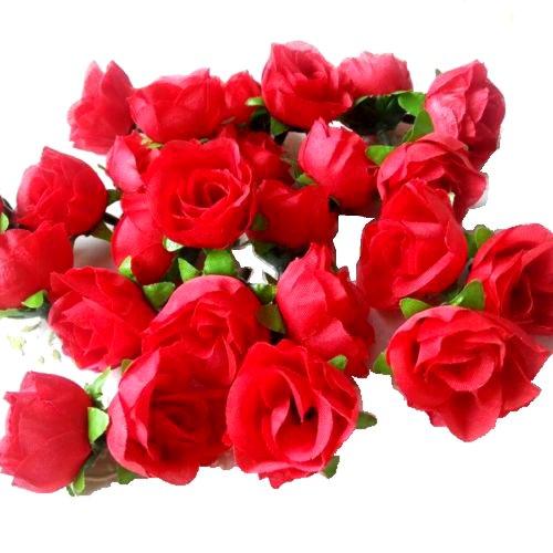 Eyourlife 100x rosenk pfe kunstrose kunstblumen for Dekorationsartikel hochzeit
