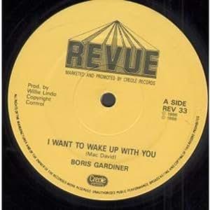 I wanna wake with you boris gardiner gay video