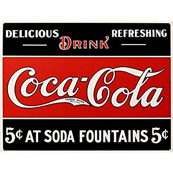 Coca- Cola Tin Sign 16 x 13in