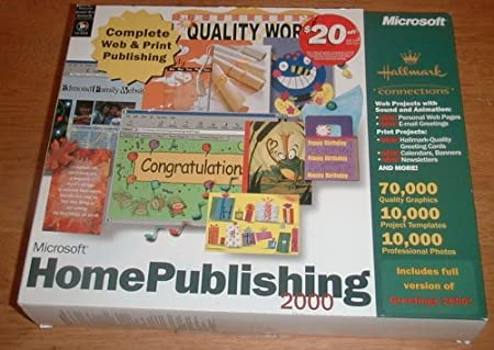 Microsoft Home Publishing 2000