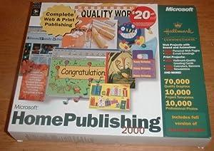 Microsoft Home Publishing 2000
