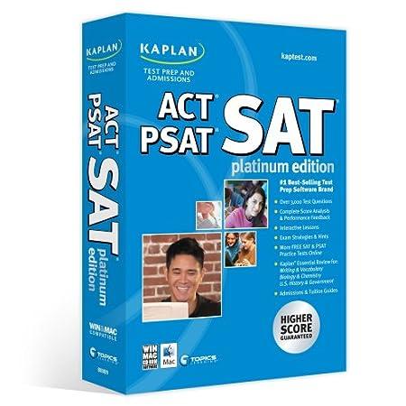 Kaplan SAT/ACT/PSAT Platinum Edition 2008