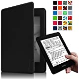 Fintie Kindle Paperwhite Case - [Blade X1] Premium Protective Smart Shell Leather Cover for All-New Amazon Kindle Paperwhite (Fits All versions: 2012, 2013, 2014 and 2015 New 300 PPI), Black