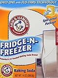 Arm & Hammer Fridge-N-Freezer Baking Soda, Odor Absorber, 14 Oz (Pack of 6)
