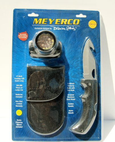 Meyerco Headlamp And Knife Set