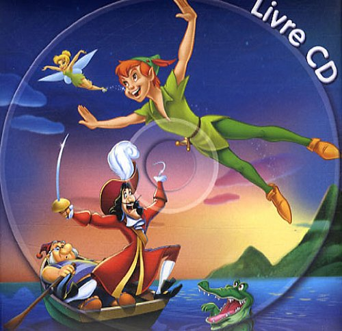 Peter Pan, Mon Petit Livre-CD (English and French Edition)