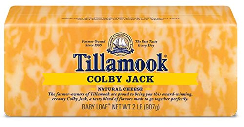 Tillamook Cheese 2lb Baby Loaf (Choose Flavor Below) (Colby Jack) (Organic Cheese Block compare prices)