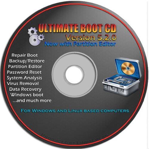 Uttermost Boot CD - Repair Windows 8, 7, Vista, XP, 2000 - Restore lost data