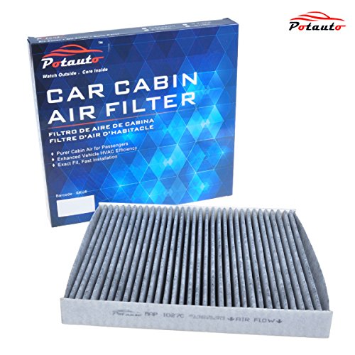 POTAUTO MAP 1027C Heavy Active Carbon Car Cabin Air Filter Replacement compatible with DODGE, DODGE Durango, JEEP, Grand Cherokee (2014 Jeep Air Filter compare prices)