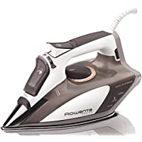 Rowenta DW5080 1700W Stainless Steel Soleplate Micro Focus Steam Iron (Brown)
