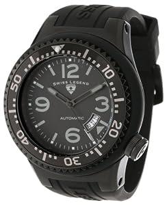 Swiss Legend 11819A-BB-01-GRYA-W - Reloj de pulsera hombre, caucho