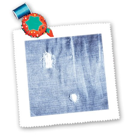 Qs_59961_1 Ps Creations - Faded Denim - Blue Jeans - Fashion - Art - Quilt Squares - 10X10 Inch Quilt Square