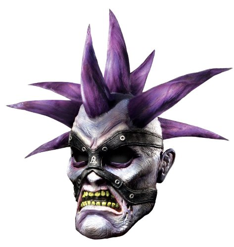 World Of Warcraft Deluxe Latex Mask, Forsaken, Purple