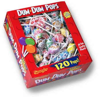Dum Dum Pops 120 Ct Box - Assorted Flavors Picture