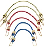 Keeper 06054 Assorted Mini Bungee Cords, 6 Piece