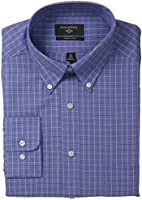 Dockers Men's Non-Iron Classic-Fit Checkered Button-Front Shirt