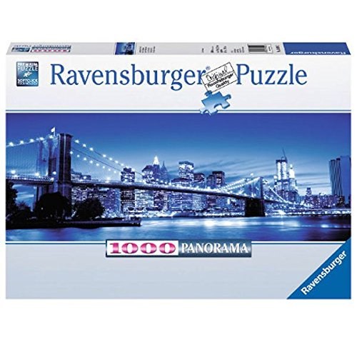 Twilight New York Panorama Jigsaw Puzzle, 1000-Piece