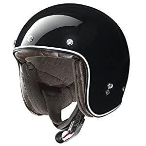 X-Lite X-201Fresno Motorcycle Composite Fibre N-Com Jet Helmet Black