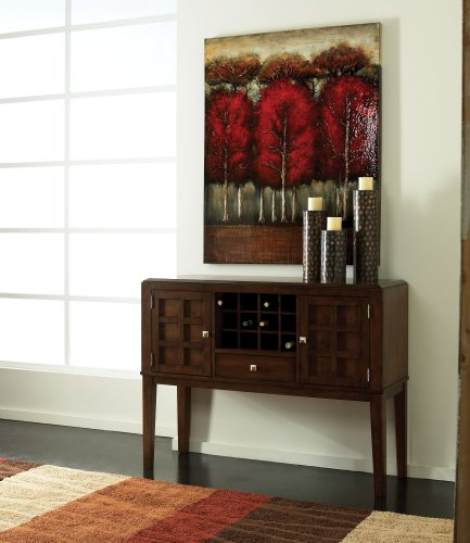 Buy Low Price Standard Furniture Cape Point Sideboard In Dark Brown Cherry Finish by Standard Furniture (B004SXT0M4)