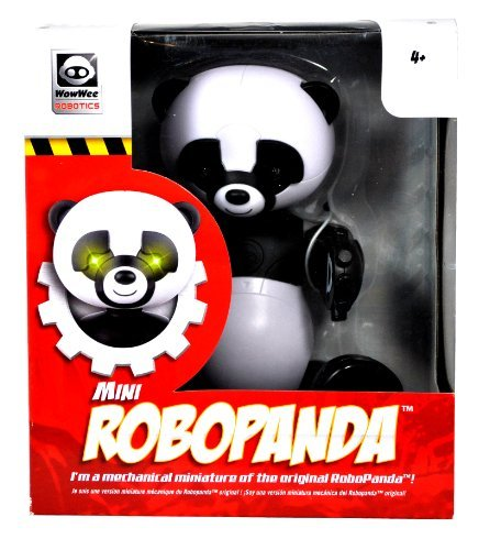 WowWee Robotics 8 Inch Tall Mini RoboPanda with Cool Crawling Action and Poseable Head and Legs