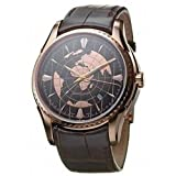 Hamilton Men's H34645591 Aquariva GMT Brown Stainless Steel Watch