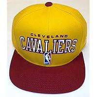 NBA Cleveland Cavaliers Snap Back Flat Bill Adidas Hat - Osfa - NK24Z