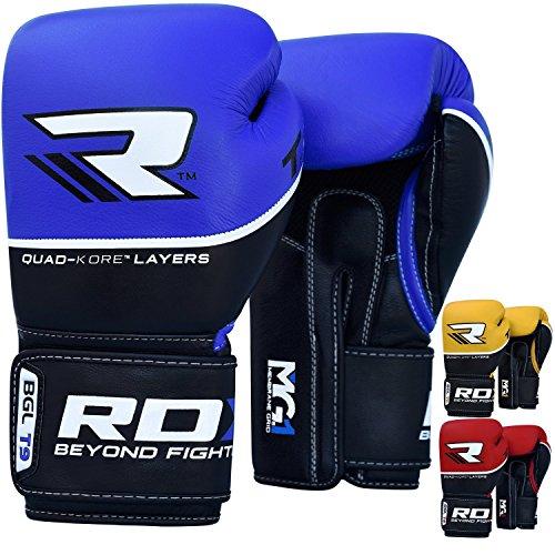 RDX Boxhandschuhe Sparring Rindsleder Training Kickboxhandschuhe Muay thai Sandsackhandschuhe
