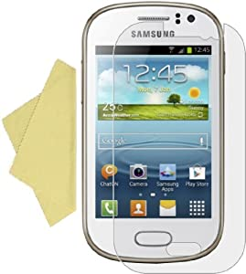 BAAS® SAMSUNG GALAXY FAME S6810 (5 Pack) Anti Scratch Screen Protector / LCD Screen Guard Film with Free 5x Microfiber Cleaning Cloth
