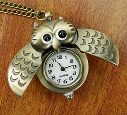 Liroyal Fashion Necklace Pocket Watch