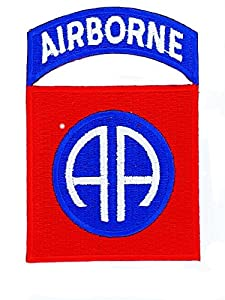 Patch ecusson insigne airborne usa americain 82 nd us army marines militaire