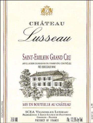 2004 Château Lusseau Saint-Émilion Grand Cru 750 Ml