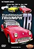 Triumph TR single disc DVD covering TR2 TR3 TR4 TR5 TR6