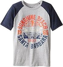Lucky Brand Big Boys39 Wood Beach T-Shirt