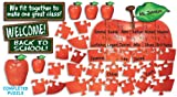 Welcome!-Apple-Puzzle-Bulletin-Board