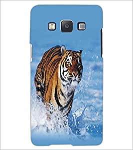 SAMSUNG GALAXY E5 RUNNING TIGER Designer Back Cover Case By PRINTSWAG