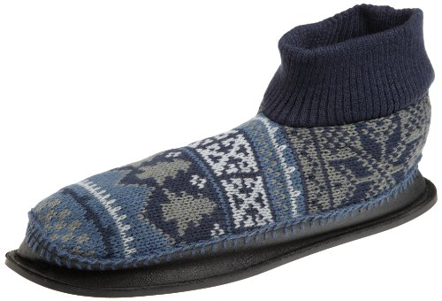 Cheap Muk Luks Men's Nordic Knit Slipper (B004XUMXDA)