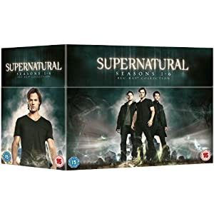 Supernatural - Season 1-6 Complete [Blu-ray]  $75 delivered from Amazon