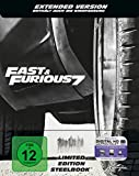 DVD & Blu-ray - Fast & Furious 7 - Extended Version - Steelbook [Blu-ray] [Limited Edition]