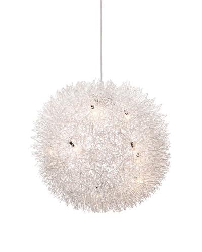 Zuo Warp Ceiling Lamp, Aluminum