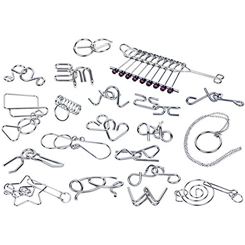sea team brain teasers metal wire iq puzzle for adult