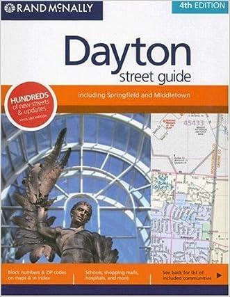 Rand McNally Dayton Street Guide: Including Springfield and Middletown (Rand McNally Dayton (Ohio) Street Guide: Including Springfield)