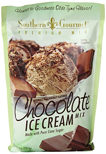 Southern Gourmet Ice Cream Mix, Chocolate, 8 Ounce