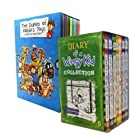 Diary of a Wimpy Kid and the Diaries of Robins Toys 17 Books Box Set Collection