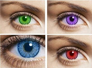 celebration daily color contact lens 10 lenses box peppy brown one day - Color Contacts Amazon