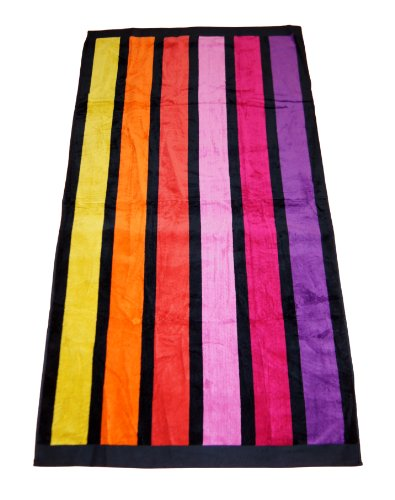 Large Beach Towel - 100% Egyptian Cotton - Very Chic design