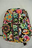Vera Bradley Small Backpack in Midnight Mickey