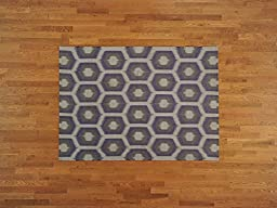 5\'x7\' Flat Weave Reversible Hand Woven Durie Kilim Oriental Rug G18573