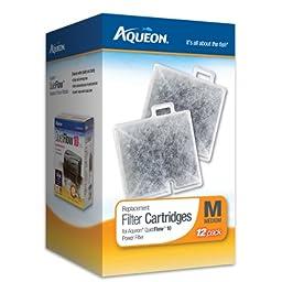 Aqueon 06418 Filter Cartridge, Medium, 12-Pack